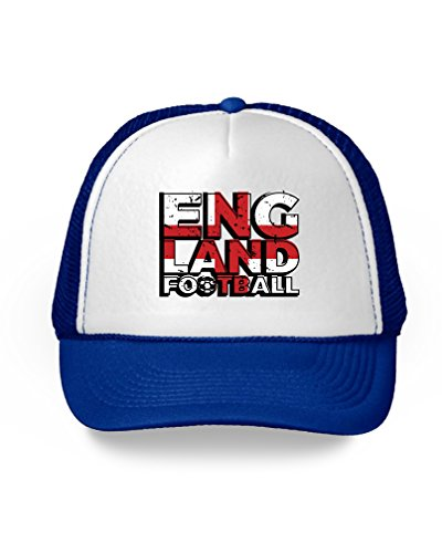 Soccer Trucker Hat - Awkward Styles England Trucker Hats England Football Hat England 2018 Soccer Gift Blue One Size