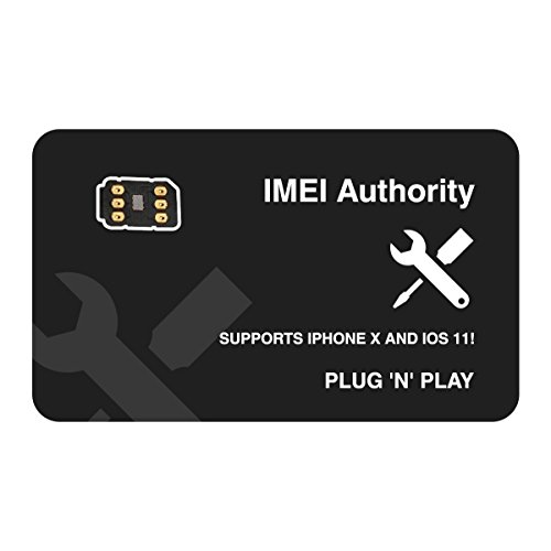 IA Sim Unlock Adapter for iPhone X 8+ 8 7+ 7 6S+ 6S 6 5C 5S - Any Carrier - AT&T, Verizon, Sprint, T-Mobile, XFINITY, GSM or CDMA GPP TURBO GEVEY AIR R SIM
