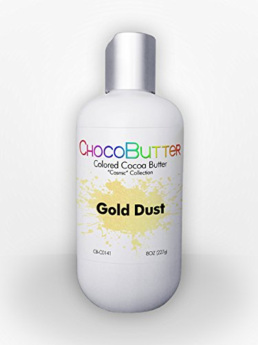 Gold Dust - Colored Cocoa Butter