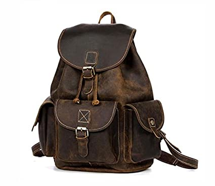 Amazon.com   The Rambler Retro Leather Backpack  0992e69bdde23