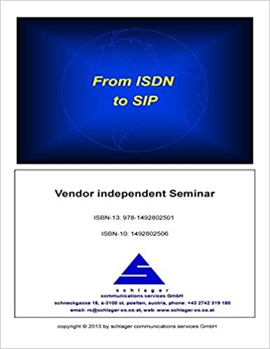 Book From ISDN to SIP by Ronald Schlager (2013-09-23)