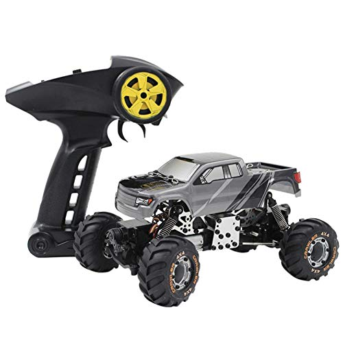 .4G High Speed RC Racing Remote Control Truck Off-Road Buggy Vehicle Toys, Outdoor Wild Climbing Vehicle, Portable & Durable Car, Kids Adults Excellent Gifts ()