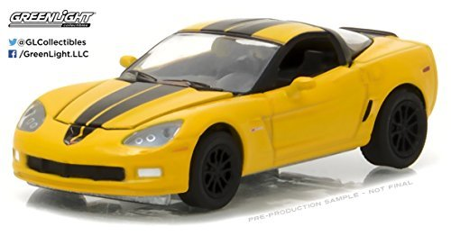 Chevrolet 2012 Corvette Z06 Velocity Yellow 1/64 by Greenlight 27875 A