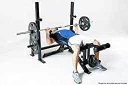 Marcy Adjustable Olympic Exercise Bench PM-70210