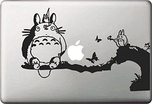 """Beon Totoro Decal Removable Vinyl Decal for Apple Macbook Pro Air Mac 13"""""""