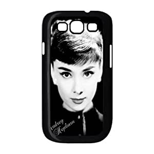 Audrey Hepburn Pattern Personalized Case for Samsung Galaxy S3 I9300, Customized Audrey Hepburn Pattern Case