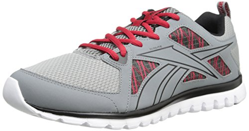 Reebok Mens Sublite Escape MT Running Shoe Grey/Red/Black/White 36gHZDX