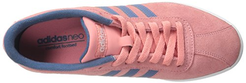 Pink Courtset adidas Blue Ash Women's Grey Shoes NEO Vista White wqFxRXXd