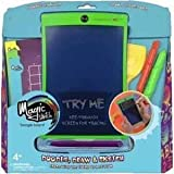 Boogie Board Magic Sketch Color LCD Writing Tablet + 4 Different Stylus and 18 Stencils for Drawing, Writing, and Tracing eWriter Ages 3+