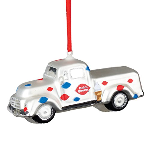 Department 56 Dairy Queen Vintage Truck Hanging Ornament