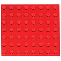 Bump Dots- Round-Flat Top-Fluor Orange-Small-56pk