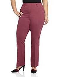 Curvy Woman Ease in to Comfort Fit Barely Bootcut Plus...