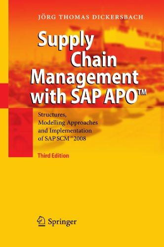 Supply Chain Management with SAP APOTM Pdf