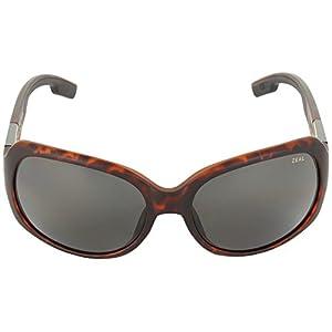 Zeal Optics Women's Penny Lane Polarized Matte Demi Tortoise W / Dark Grey Polarized Lens Sunglasses