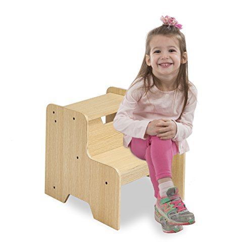 (Melissa & Doug Wooden Step Stool -)
