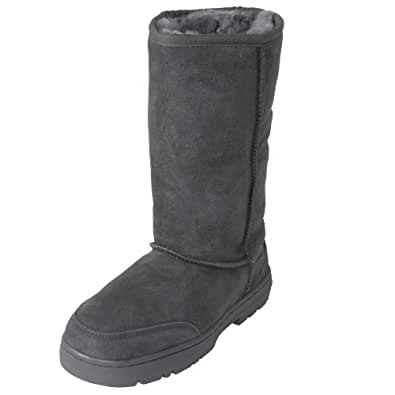 Brumby Shearling Sheepskin Lug Sole Comfort Boots