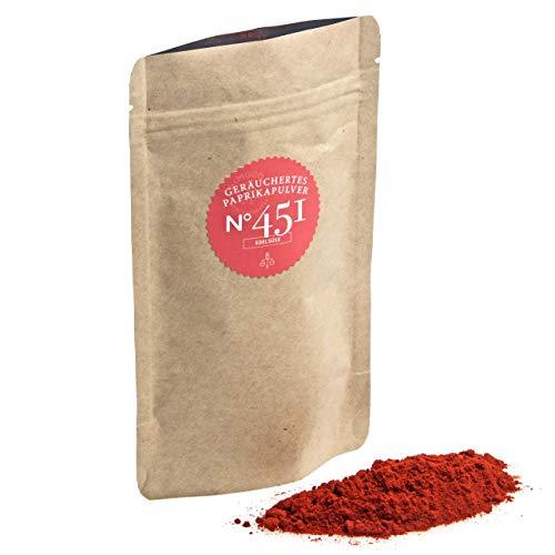 Bio geräuchertes Paprikapulver N°451 | edelsüß | Großpackung 500g | Bio smoked Paprika | Bio Pimenton De La Vera