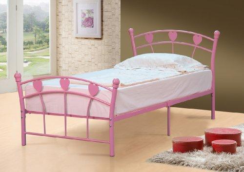 Jemima Single Girls Pink Bed Frame