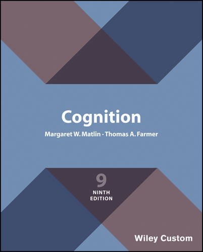 Cognition, 9th Edition by John Wiley & Sons