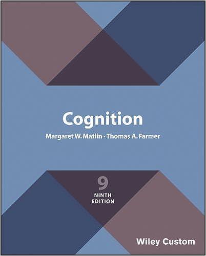 Book Cognitive Psychology, Eighth Edition International Student Version Premium Custom Edition