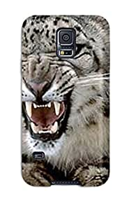 Hot New Snow Leopard Case Cover For Galaxy S5 With Perfect Design