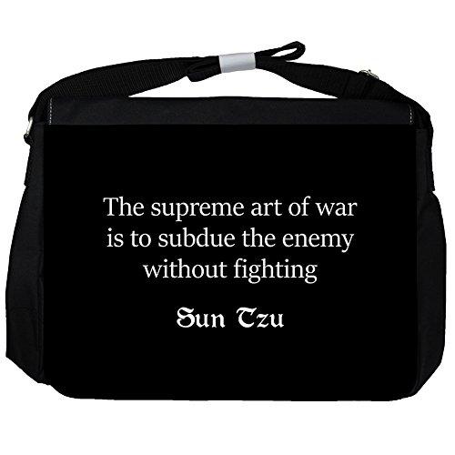 The supreme art - Sun Tzu Unisex Umhängetasche