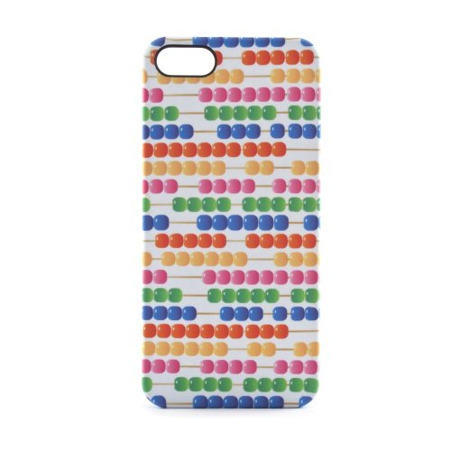 ef36f1a416c Proporta 09236 Protective Hard Shell Back Case for iPhone 5 - Abacus - 1  Pack -