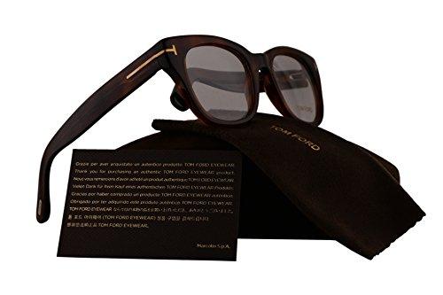 Tom Ford FT5473 Eyeglasses 49-20-140 Light Havana w/Demo Clear Lens 053 TF5473 FT 5473 TF 5473