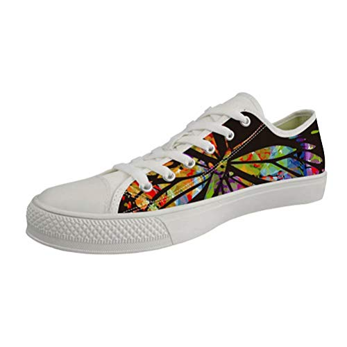 Zeppa Chaqlin white Con Sandali 6 Butterfly Donna OR7Fq