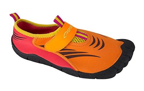 Spokey Damen Wasserschuhe Aquaschuhe Seafoot, orange, 38