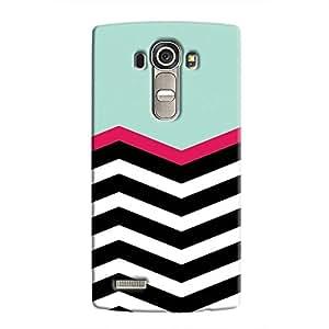 Cover It Up - Zebra in Blue LG G4Hard Case