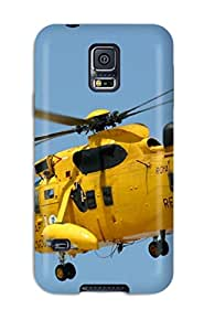 Hot GfYHlMq2816iYsHo Case Cover Protector For Galaxy S5- Helicopter