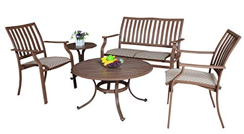 (Panama Jack Outdoor Island Breeze 5-Piece Deep Seating Group)