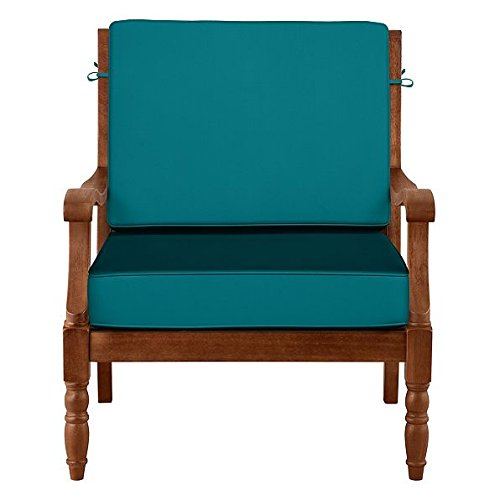 6 Inch Welted (Outdoor Patio Deep Seat Relaxed Chair Cushion Set - Box Edge - 19
