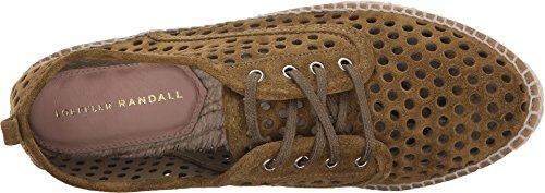 Loeffler Randall Womens Alfie Fashion Sneaker Mos Geperforeerd Split Suède