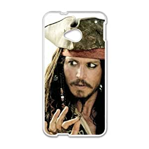 Pirates of the Caribbean HTC One M7 Cell Phone Case White Phone cover SE8592585