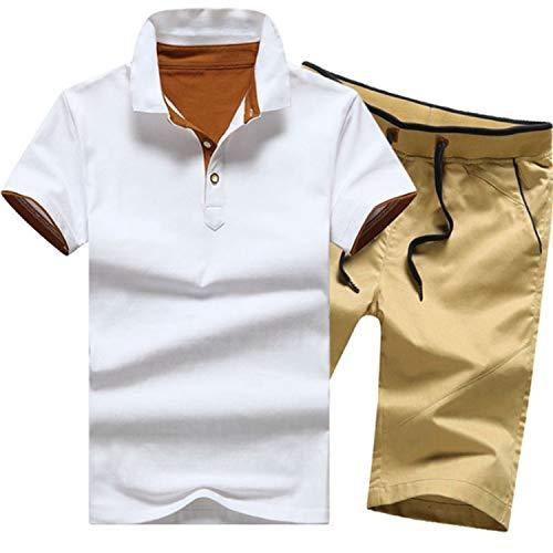 Camiseta Trajes 19 Conjunto Cortos Casuales 4xl Tamaño And Navy De Ropa Conjuntos Nuevos Colores Pantalones Red Chándales Hombres M El Masculinos Más Verano Wine 7Z07wqr