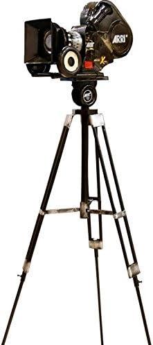 SU@DA Antike Metall-Modell altmodischen Schnecke Kamerastativ Kameraschmuck alte Filmkamera bar