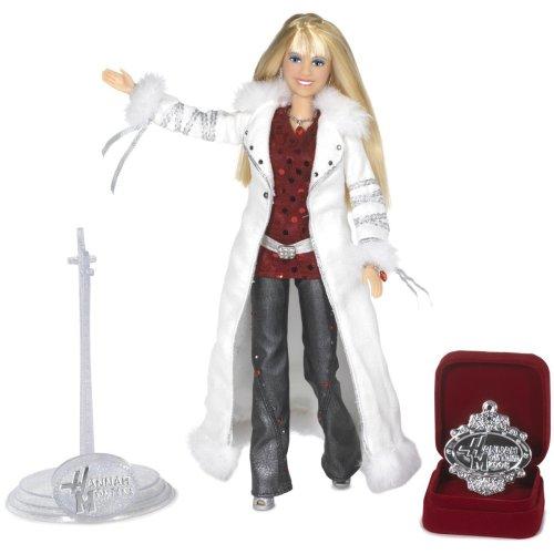 Hannah Montana Holiday Singing Doll