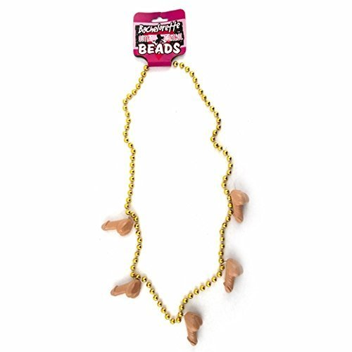 Pecker Bead Necklace by Bachelorette.com