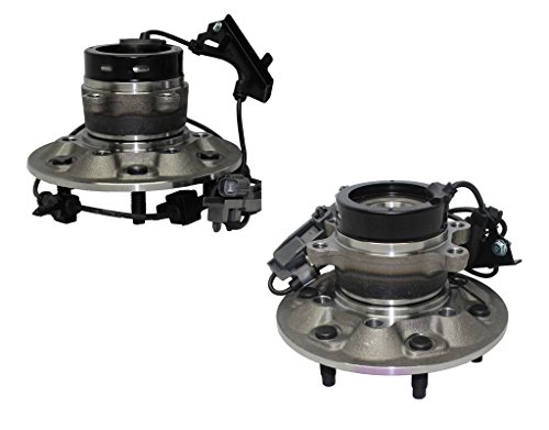 Detroit Axle 4x4 ONLY Both (2) New Front Driver & Passenger Side Complete Wheel Hub and Bearing Assembly fits Chevrolet Colorado 4x4 ABS ()