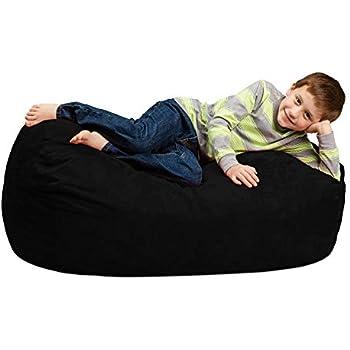 Amazon Com Chill Sack Bean Bag Chair Large 4 Memory