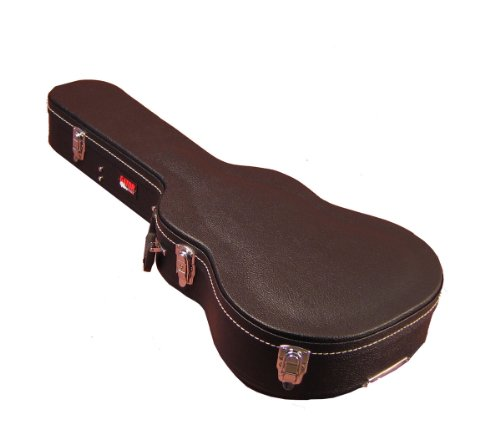 Gator Cases Hard-Shell Wood Case for 3/4 Sized Acoustic Guitars (GWE-ACOU-3/4)
