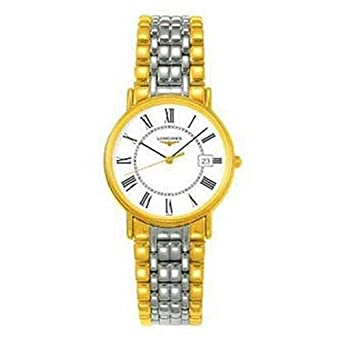 Longines Presences White Dial Two-tone Watch L47202117