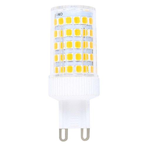 Regulable 10W G9 LED Bombilla de Blanco cálido 3000K Luz de Maíz Con 800ml Lumenes 360 Grados, Reemplazo de 80W Lámpara Halógena: Amazon.es: Iluminación