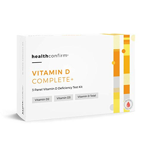 HealthConfirm Vitamin D Complete -Vitamin D Deficiency Blood Collection Test Kit (3 Panel)