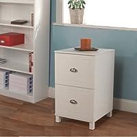 Bradley 2-Drawer Filing Cabinet, 2 drawers for letter-sized files