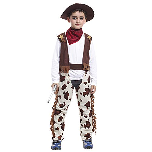 Us Weekly Costumes - Cowboy Costume for Little Boys' Role Play,Acecharming Boys' Cowboy Costume Outfit Fancy