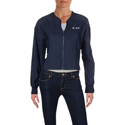 Nike Womens Fall Lightweight Cropped Jacket Navy S