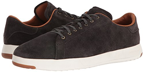 Cole Haan C24124 Men's Grandpro Tennis Fashion Sneaker, Grey Oiled Suede, 11 M US